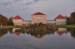 Nymphenburger Schloss mi See